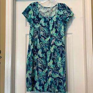 Lilly Pulitzer shorts sleeve Marlow dress
